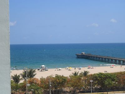 Photo for Beach Front Condo - See & Hear  the waves from your bed and balcony