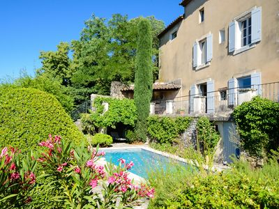 "Photo for ""Bonnieux Vista"" - wonderful views; pool & garden; walk to bakery & restaurants"