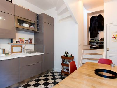 Photo for Superb apartment 15 min from Buttes Chaumont