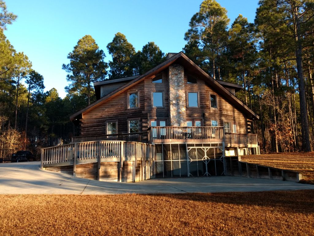 Log Cabin On The Lake Getaway From It All Homeaway