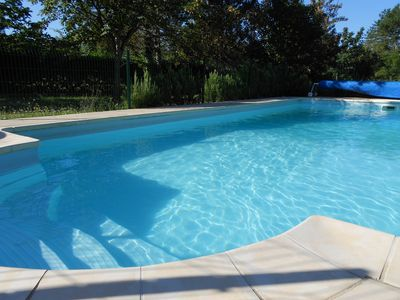 Photo for Julyanou: ideal for family, sports, swimming pool, bbq, golf in Southern Ardèche!