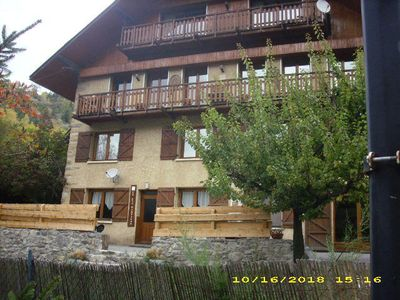 Photo for Duplex apartment 4km from Orres - 6 Rooms 12 people