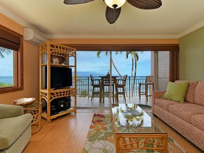Photo for Fully remodeled Direct Ocean Front Views-minutes away from Historic Lahaina