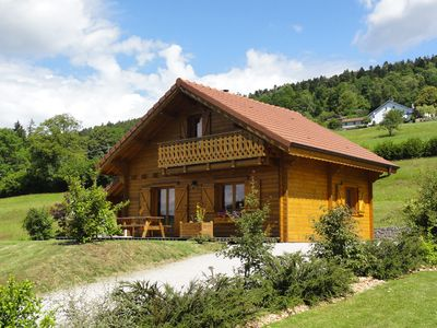 Photo for Welcoming chalet, quiet, luxurious amenities