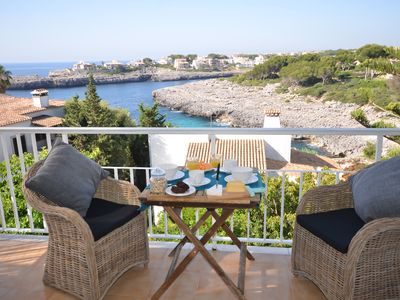Photo for Luxury for gourmets with breathtaking sea views ... Free Wi-Fi + v. sea