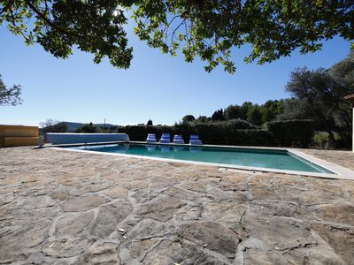 Photo for Bottom of independent villa of 50 m2 with swimming pool access, golf ball