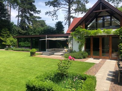 Photo for Luxury holiday villa with 15 meters indoor swimming pool and sauna!
