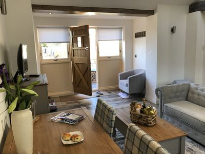 Photo for SHIRLEYWICH HOLIDAY BARNS, EQUESTRIAN AND DOG FRIENDLY, SLEEPS 2-4, detached