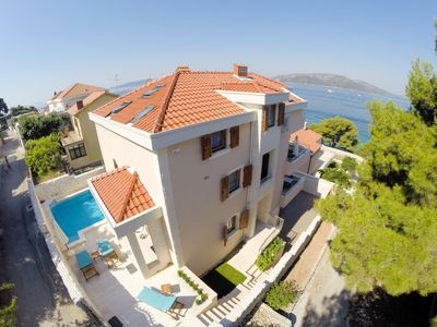 Photo for This 5-bedroom villa for up to 10 guests is located in Okrug Donji and has a private swimming pool,