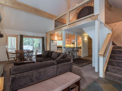Photo for Beautiful remodeled West Shore Cabin, walk to Chambers public beach, 3 min to Homewood Ski Area