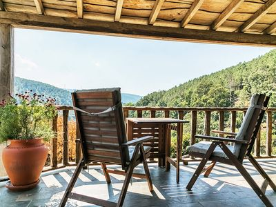 Photo for Cottage with a magnificent view over Cerdeira's Brook valley