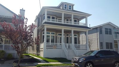 Photo for GORGEOUS NEW CONSTRUCTION 4BR, Steps to Beach! Rooftop Deck, 8 Free Beach Passes