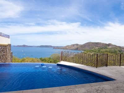 Photo for Ocean View Villa w/Private Infinity Pool, Large Outdoor Private Living Space