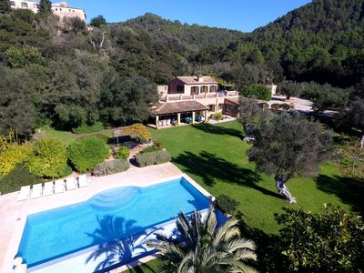 Photo for Exclusive villa with pool – Sa Tafona de Esporles