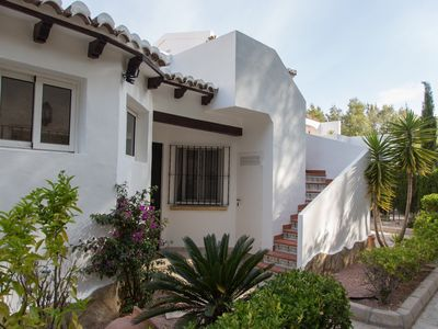 Photo for Villa in Moraira with fireplace and free WiFi