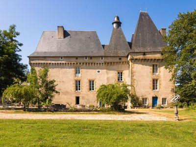 Photo for Romantic stay in a medieval castle with pool and restaurant among others.