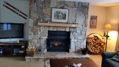 Photo for True Ski In/Out Seasons Mt Snow - 2 bed room