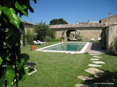 Photo for 2 bedroom, 2 bathroom, luxury private villa with a heated pool and garden