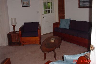 Living Room with two comfortable couches and chair