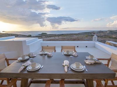 Photo for Sea Shell is a 140m2 luxury villa located in Parasporos, Paros.