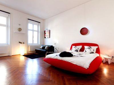 Photo for KIRALY HEART OF PEST luxury & charm - French homedesigner apartment in 1890 hous