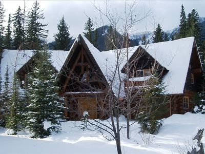 Photo for Ski in Log Chalet w/Antique Furnishings! Fun for Family! Books 1 yr in advance~