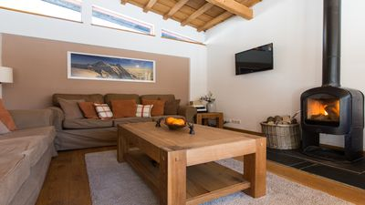 The living room in Chalet Alpins