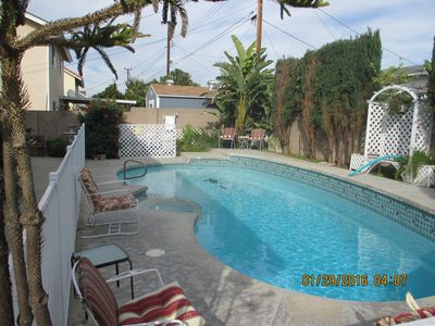 Photo for Between Disneyland & Beach, Very Private pool, spa -  House Orange County
