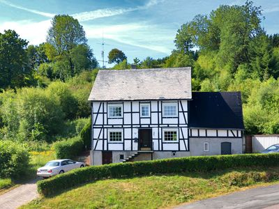 Photo for Large half-timbered house near Winterberg with garden, terrace and garage