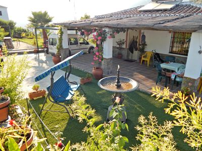 Photo for Beautiful villa in the quiet of the mountain and close to the beach