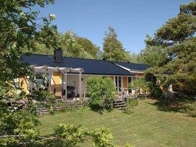 Photo for Tasteful house with natural plot by the sea