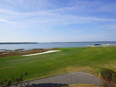 Photo for Directly on 18th Hole in Harbour Town Sea Pines