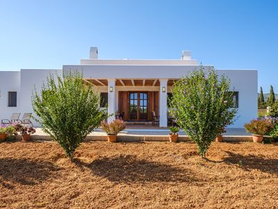 Photo for Ibizan Country House with Porch, Vegetable Garden & Sun terrace; Parking Available