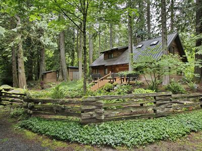 Photo for Relaxing Sandy River Cabin Retreat