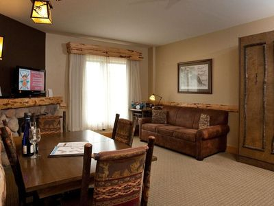 Photo for Great Deal! Suite + Balcony | Pool, Hot Tub, & Gym, On-Site Waterpark!