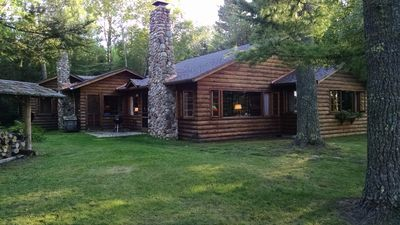 Photo for Family-friendly Northwoods Cottage & Guest House On Beautiful Crystal Lake