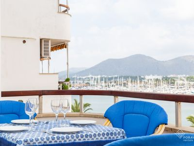 Photo for Apartamento Mantonia - Beautiful apartment with sea views in Port d'Alcúdia