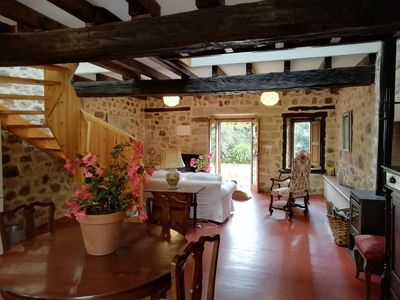 Photo for Charming cottage on Palacio de Hualle estate, minutes to beaches, near Comillas