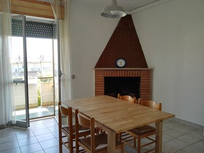 Photo for apartment in the hills 6 km from the sea