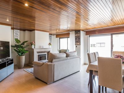 Photo for Cascais Rooftop  apartment in Cascais with WiFi, balcony & lift.
