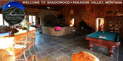 Photo for Family-friendly Lodge/Your private retreat/Paradise Valley/Absaroka Mountai