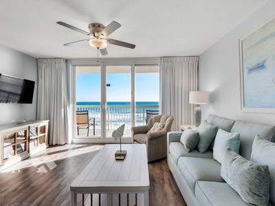Photo for Beautiful, coastal unit, Stunning gulf front views, Convenient to entertainment
