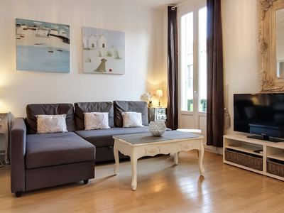 Photo for Beautiful South of France Boutique Apartment, Centre of Town, 5 Mins from Beach