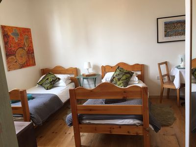 Photo for Lovely Twin Room with Terrace& Private entrance