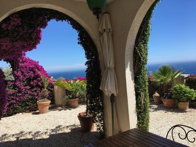 Photo for Menton, Luxury Villa With Stunning Sea View