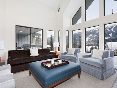 Amazing views from your living area and private balcony! Overlooking the slopes!
