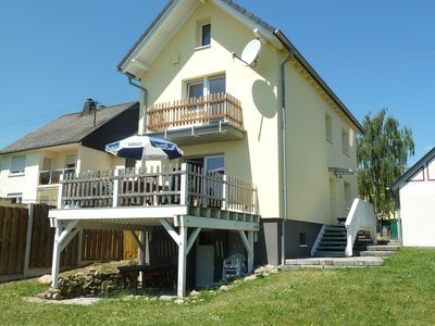 Photo for Detached holiday home with terrace and its own garden in the Hunsrück.