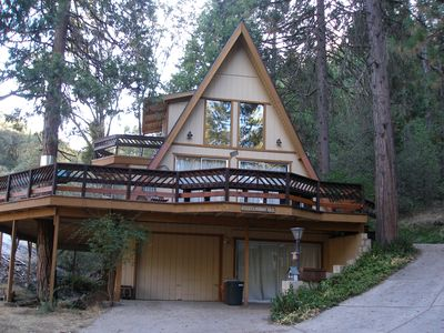 Photo for A-FRAME HOME WITH WRAP AROUND DECK AND LAKE VIEW