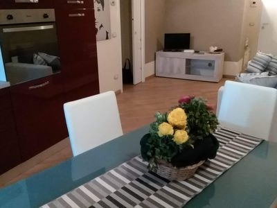 Photo for Apartment with all conforts, wifi + parking + elevator + AC and terrace