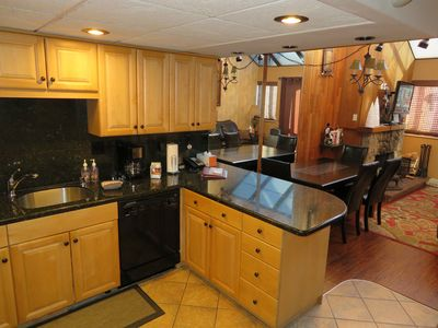 The fully equipped kitchen has just about everything you need if you cook!